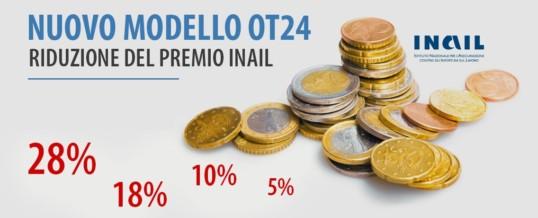 OT24 Modello riduzione Inail