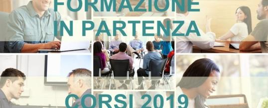 Anno 2019: Nuovi corsi per la formazione in azienda